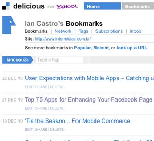 O Delicious, site de social bookmarking, pode acabar. Conheça 125 sites de social bookmarking para substituir o serviço e salvar os seus favoritos online.