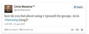 E essa tal Hashtag? Entendendo o uso da hashtag como ferramenta de marketing digital (Marketing Digital )