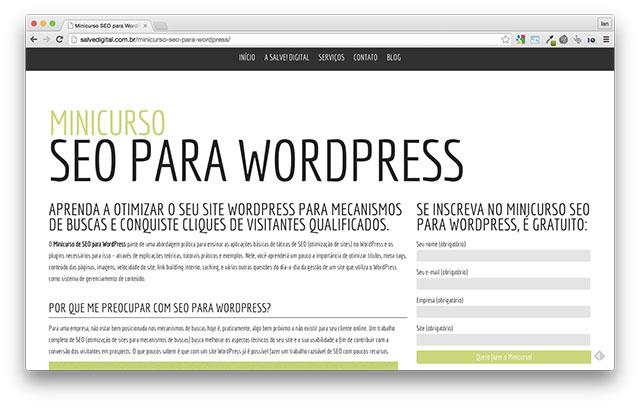 Minicurso de SEO para WordPress: que tal melhorar a posição do seu site no Google? (Otimização de Sites (SEO) )