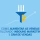 Como aumentar as vendas utilizando inbound marketing e crm de vendas